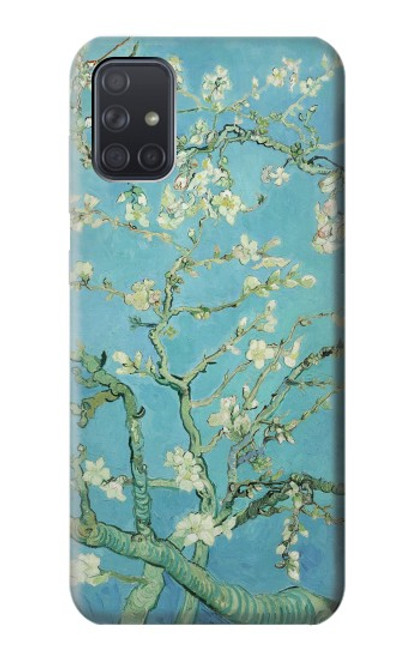 S2692 Vincent Van Gogh Amandier en fleurs Etui Coque Housse pour Samsung Galaxy A71