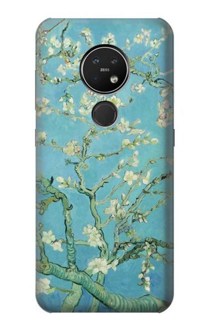 S2692 Vincent Van Gogh Amandier en fleurs Etui Coque Housse pour Nokia 7.2