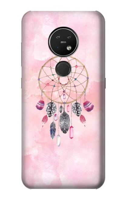S3094 Peinture Dreamcatcher Aquarelle Etui Coque Housse pour Nokia 7.2