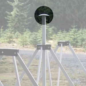 Center Pole Top Cap
