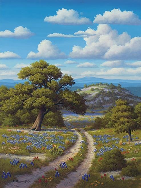 a518f0e9352 Bluebonnet Giclee Art Prints