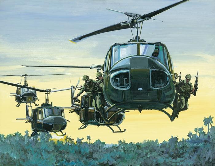 Bell UH-1 Huey Iroquois  Fine Art Prints