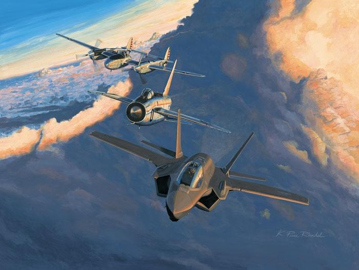 F-35 Lightning II Fine Art Prints