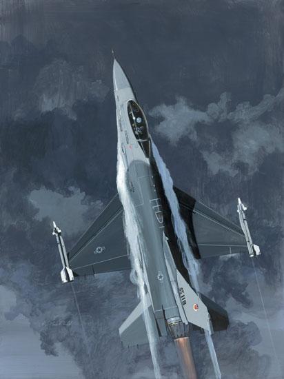 F-16 Viper Fine Art Prints