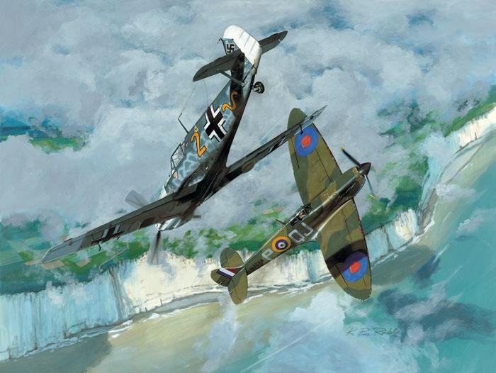 Messerschmitt Bf 109 Fine Art Prints