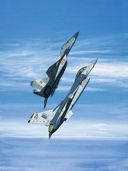Mikoyan MiG-29 Fulcrum Fine Art Prints