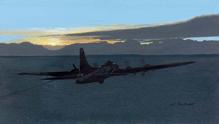 B-17 Flying Fortress Fine Art Prints