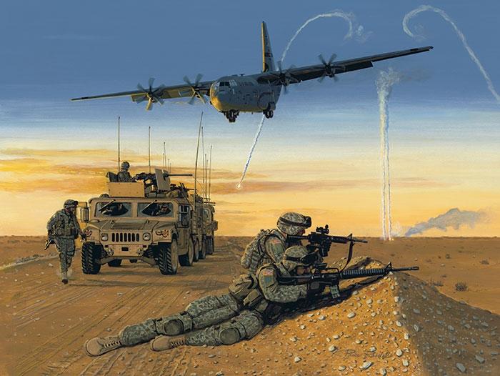 C-130 Hercules Fine Art Prints