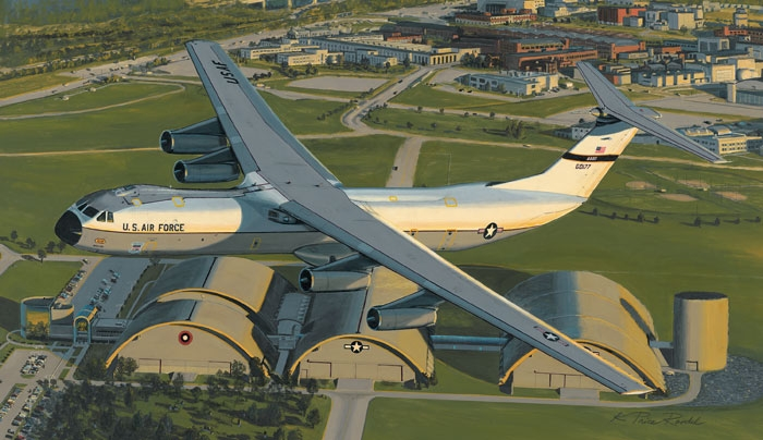 C-141 Starlifter Fine Art Prints