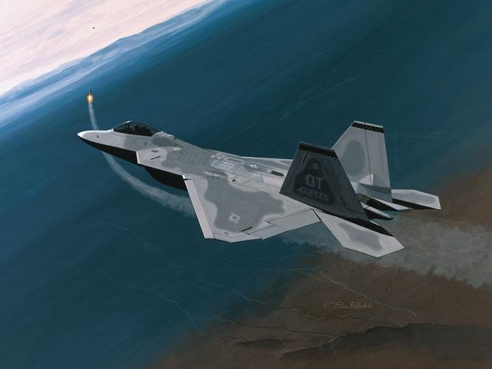 F-22 Raptor Fine Art Prints