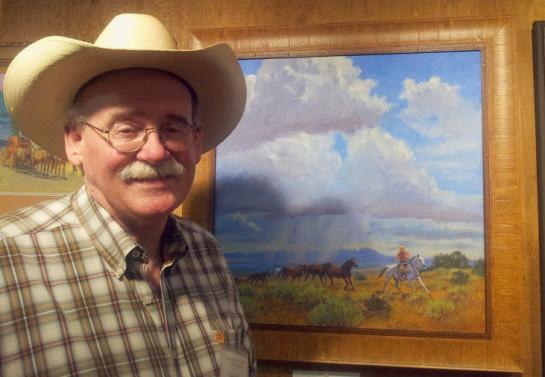 Western Artist Lyndy Benson