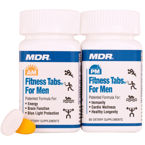 Men's AM/PM Fitness Tabs