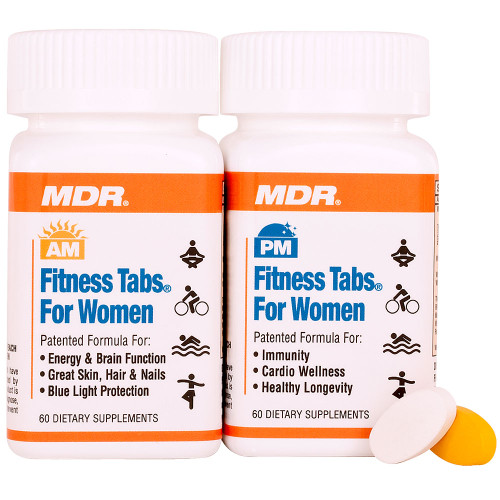 Women's AM/PM Fitness Tabs