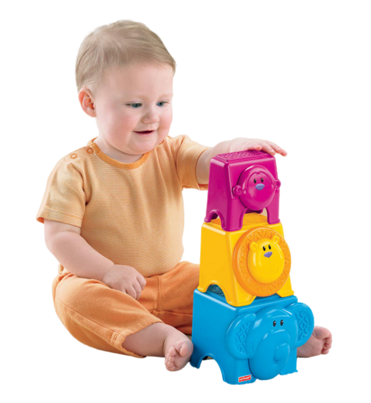 Fisher Price Animal Stack Nest Blocks