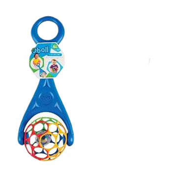 OBALL 2-in-1 RATTLE ROLLER