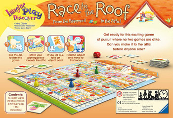RAVENSBURGER RACE TO THE ROOF  (HEBREW EDITION)