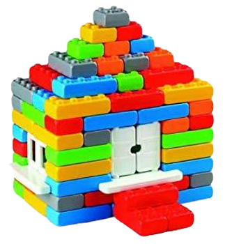 MARIOINEX BRICKS JUNIOR 90 PIECES