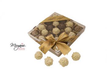 CHOCOLATE TRUFFLES 21  PIECES (DAIRY)