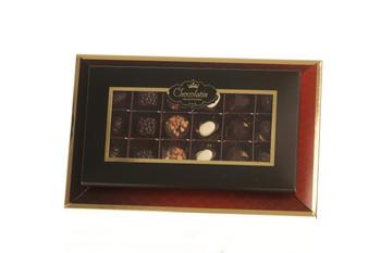 CHOCOLATE PRALINE GIFT BOX - 18 PIECES (PARVE)