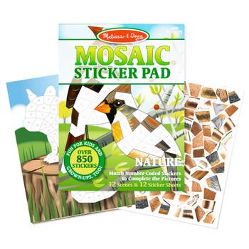 MELISSA & DOUG MOSAIC STICKER PAD (STYLES VARY)
