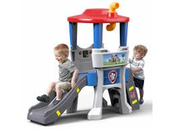STEP 2 PAW PATROL LOOKOUT CLIMBER SLIDE PLAYSET