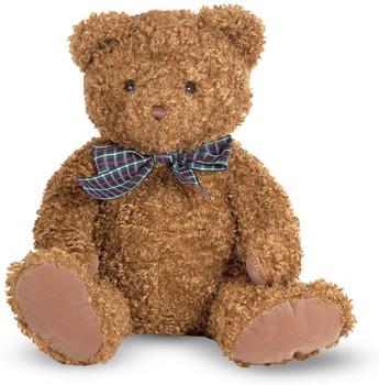MELISSA AND DOUG  LITTLE CHESTNUT 9 INCH TEDDY BEAR (COLORS VARY)