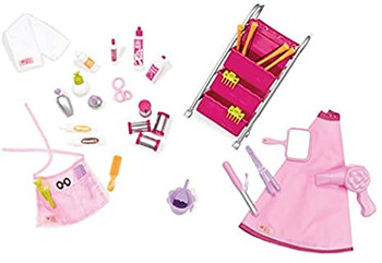 OUR GENERATION BERRY NICE SALON SET ACCESSORIES