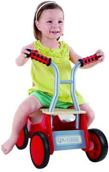 HAPE  LITTLE RED RIDER BIMBA BIKE RIDING TOY