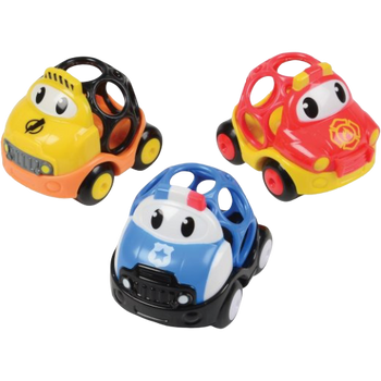 OBALL GO GRIPPERS SET OF 3 CARS (STYLES VARY)