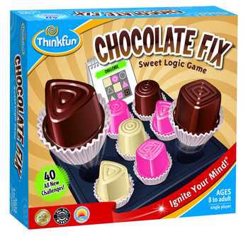 THINKFUN CHOCOLATE FIX BOARD GAME (HEBREW EDITION)