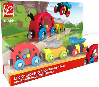 HAPE LADYBUG AND FRIENDS TRAIN