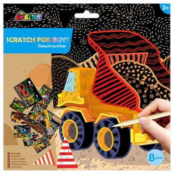 AVNIR SCRATCH ART- CONSTRUCTION SET