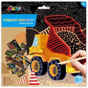 AVNIR SCRATCH ART- CONSTRUCTION SET