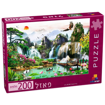 ISRATOYS PUZZLES 200 PIECES (STYLES VARY)