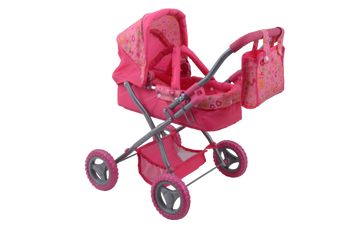 CUBY BASSINET STROLLER WITH BUNTING