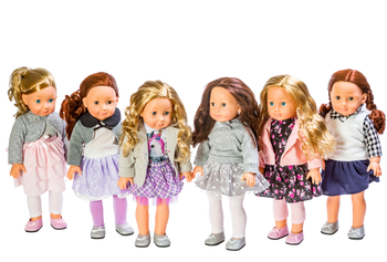 18 INCH BILLIE DOLL- STYLES VARY