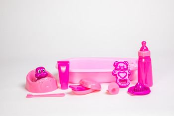 DOLL BATHING SET