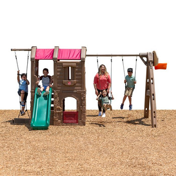 STEP 2 OUTDOOR SWING SET