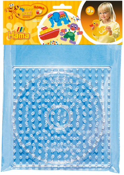 HAMA  SQUARE AND CIRCLE BOARDS FOR MAXI IRONING BEADS