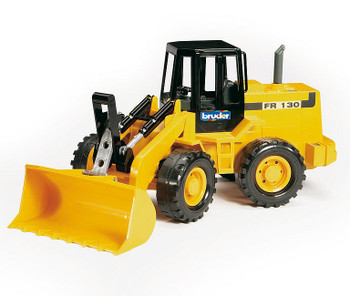 BRUDER FRONT LOADER YELLOW TRACTOR