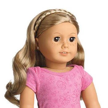 SPRINGFIELD BRAIDED HEADBAND FOR 18 INCH DOLL (COLORS VARY)
