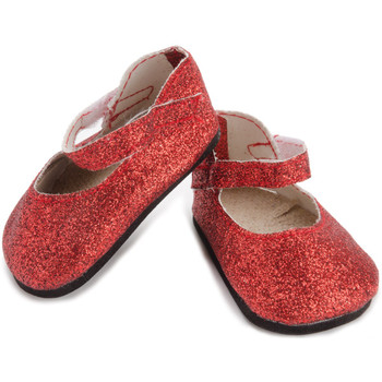 SPRINGFIELD COLLECTION RED SPARKLE FLATS (COLORS AND STYLES VARY)