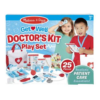 MELISSA & DOUG GET WELL DOCTOR'S KIT PLAY SET