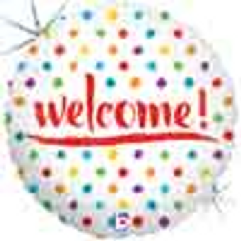 18 INCH HELIUM WELCOME BALLOON (STYLES VARY) JERUSALEM ONLY