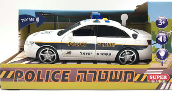 POLICE CAR WITH LIGHT AND SOUND