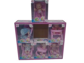 SMALL DOLL AND ACCESSORY SET (STYLES VARY)