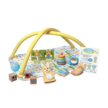 MELISSA AND DOUG MINE TO LOVE TOY TIME DOLL PLAY SET