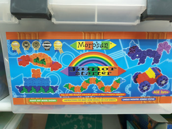 JUNIOR STARTER MORPHUN BUILDING TOY 300 PCS
