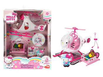 HELLO KITTY HELICOPTER SET