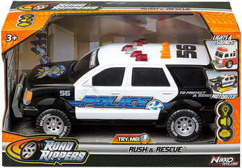 ROAD RIPPERS RUSH AND RESCUE POLICE CAR
